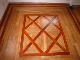Basketweave Flooring Pattern Installed by Labrador Floors and Tile
